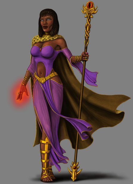 Stygian Sorceress